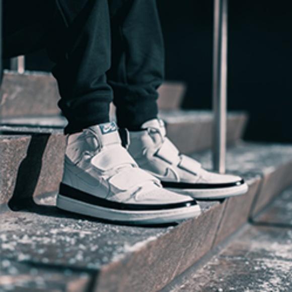 Air Jordan 1 RE HI Double Strap White